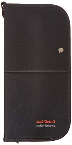 (Martin Universal Design Just Stow-It Easel-Back Brush Case, Black, 1 Each (66-JS1702))
