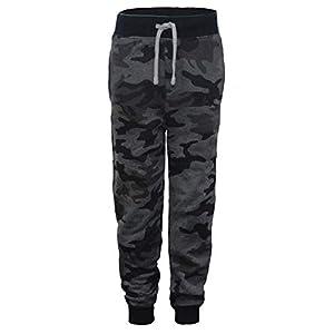 NABER Kids Boys Casual Sweatpants Elastic Waist Sports Trousers Age 5-13 Years