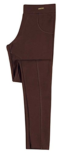Tween Girl Leggings Riding Pants Equestrian Pulla Bulla Size 14-16 Years - Brown (Tween Leggings)