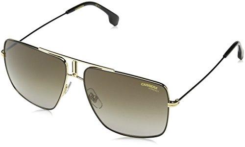 Carrera Mens 1006/S Sunglasses, Black Gold/Brown Gradient, - Sunglasses Carrera Brown