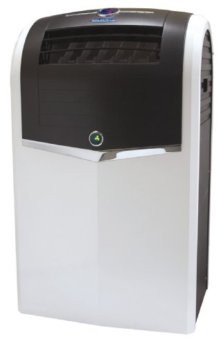Soleus Air PH4-13R-01 13,000 BTU Evaporative Portable Air Conditioner, 13,000 BTU Heater, Dehumidifier and Fan