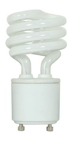 Kichler Lighting 4074 11-watt GU24 Base Spiral Self Ballast Compact Fluorescent Lamp, Frosted by Kichler Lighting (11w Spiral)