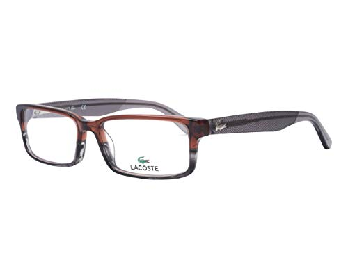 - Eyeglasses LACOSTE L 2685 210 STRIPED BROWN GREY