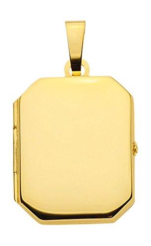 Médaillon pendentif pendentif en or jaune 585 14 carats