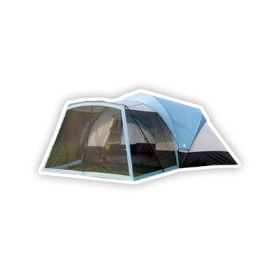 Tahoe Gear Zion 8 Person Family Tent with Screen Porch, Outdoor Stuffs