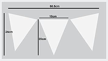 Wandfarbe Stoffe /& M/öbel 24x50.5cm See Image Kunst /& Handwerk Schablone Wimpel Flaggen Nautisch Dekor Schablone halb transparent Schablone Wiederverwendbar Startseite-Wand-Dekor