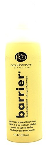 Sodium Hydroxide Hair Relaxer - Paul Brown Barrier Skin and Scalp Protectant - 4.0 oz