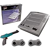 New Nes/ Snes/ Genesis Yobo Fc3 Plus Video Game System Silver With 2 Controllers 1 Zapper Gun