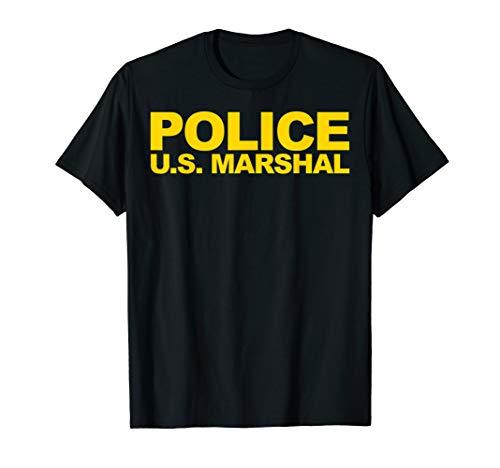 U.S. Marshal Shirt Front Print Law Enforcement Clothing