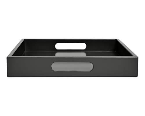 Dark Gray Tray with Handles, Many Sizes ()