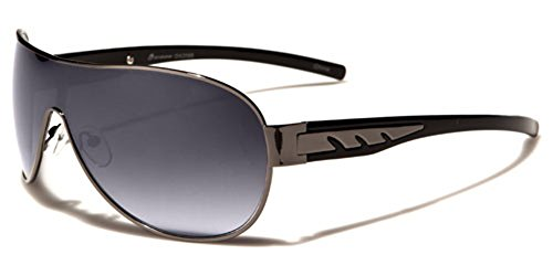 Oxigen Retro Classic Unisex Men Women Fashion Aviator Sunglasses Gold Black New