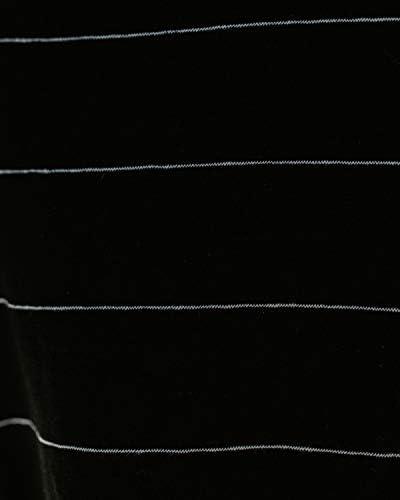 YANEKOP WOMENS STRIPED JERSEY TANK TOP LOOSE CASUAL V NECK SLEEVELESS TUNIC SHIRT