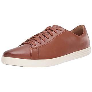 Cole Haan Men's Grand Crosscourt II Sneaker, TAN LEATHER BURNSH, US 7W