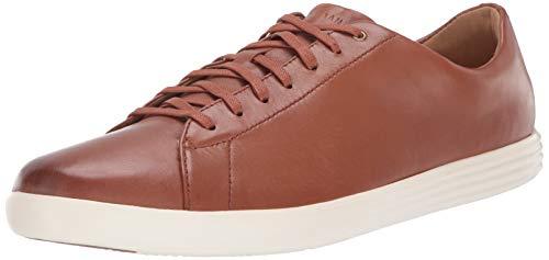 Cole Haan Men's Grand Crosscourt II Sneaker, TAN LEATHER BURNSH, US 8W