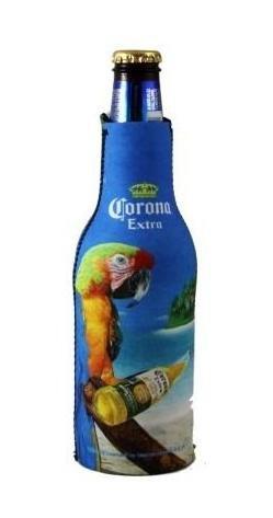 Corona Extra Macaw Parrot Beer Bottle Suit Holder Cooler Kaddy Huggie