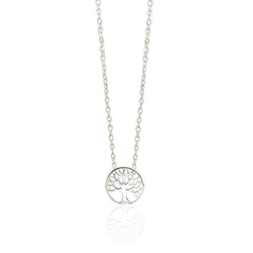 Tousmesbijoux Collier motif arbre Argent 925/00
