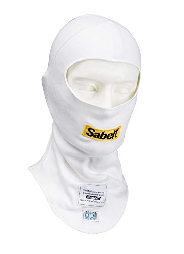 Sabelt UI-100 Nomex Balaclava - White