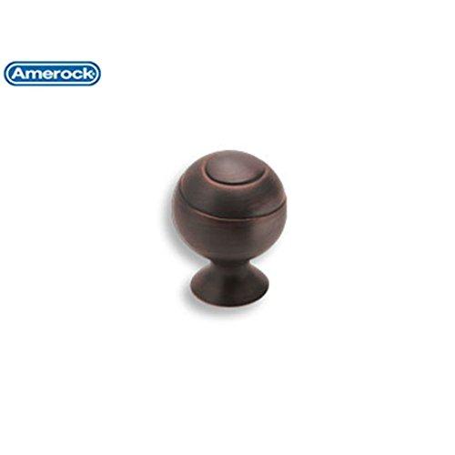 Amerock Swirl'Z 1-1/8 in. (29mm) Cabinet Knob Oil-Rubbed Bronze - BP9338ORB