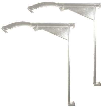 Designer'S Touch 299084 Vertical Blind Valance Clip For Alum