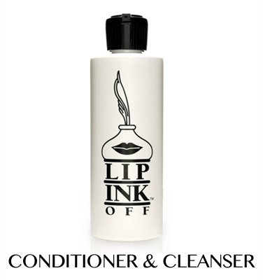 LIP INK OFF - Organic Makeup Cleanser and Remover Refill Bottle (4 fl oz.) by Lip Ink