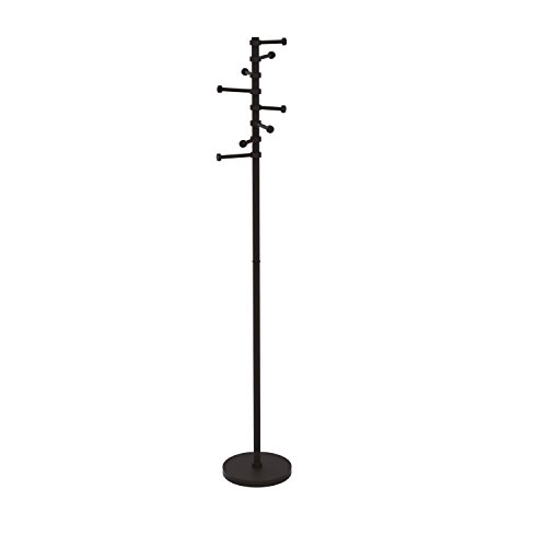 Allied Brass CS-1-ORB Free Standing Coat Rack with Six Pi...