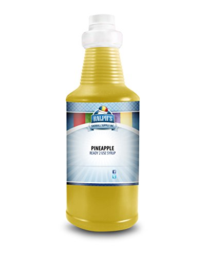 Ralph's Pineapple Snow Cone Syrup (32 Oz) (Pineapple Snow)