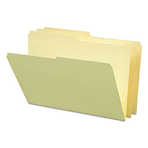 Smead File Folder, 1/2-Cut Tab, Legal Size, Manila, 100 per Box (15320)