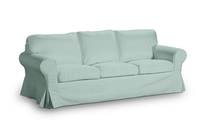 Slip Cover For Ikea Ektorp 3 Seater Sofa Bed Turquoise In Old