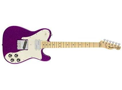fefe8820b9e Fender Limited Edition '72 Tele Custom Electric Guitar (Purple Sparkle)
