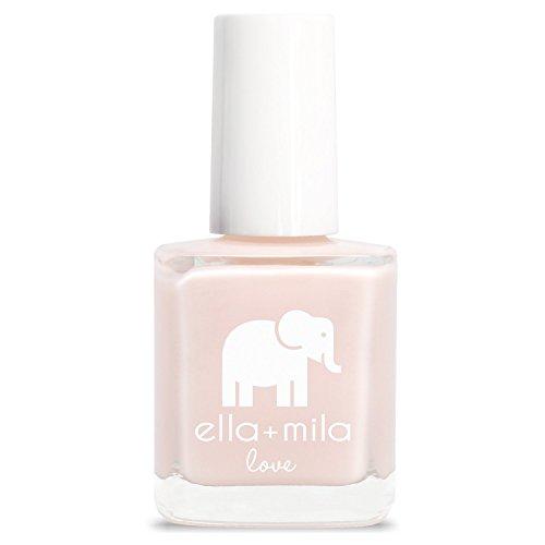- ella+mila Nail Polish, Love Collection - Barely Pink