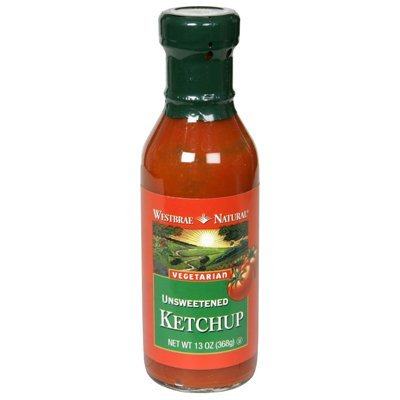 Westbrae Vegetarian Unsweetened Ketchup, 13 Ounce (Pack of 6) Review