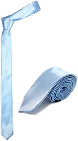 100% Premium Microfiber Handmade Mens Skinny Tie 2
