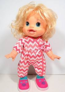 Baby Alive Wanna Walk Doll - Blonde - in Striped One for sale  Delivered anywhere in USA