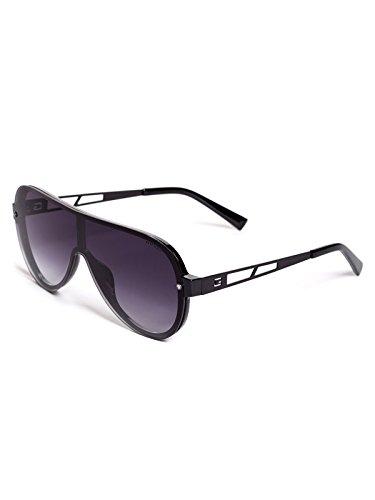 1b703073a29 GUESS Factory Men s Future Rimless Aviator Sunglasses