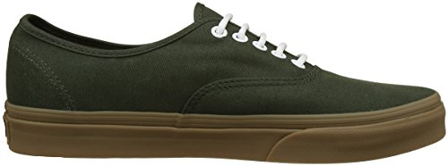 Sneakers Authentic light Vans Rosin Adulte Mixte Basses gumsole Gum Vert 15wqxwSnH