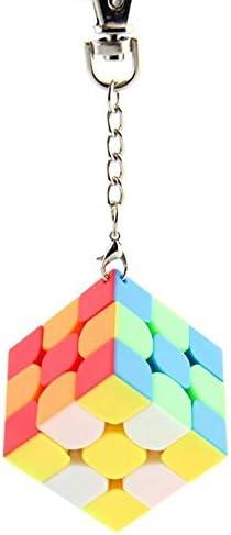 Schlüsselanhänger Zauberwürfel S... FANXIN 3.5 cm Mini Bread Keychain Cube 3x3