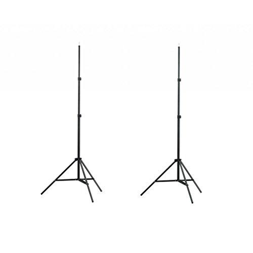 vidaXL 2 Lampenstative Höhe 78 - 205 cm