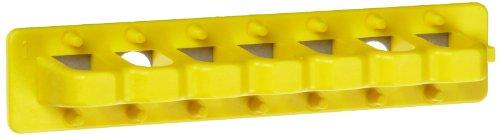 Brady EZ Panel Loc-Lock Rail Mounting Rails with Adhesive Backing, 4
