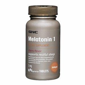 GNC Mélatonine 1, comprimés, Cherry, 120 ch
