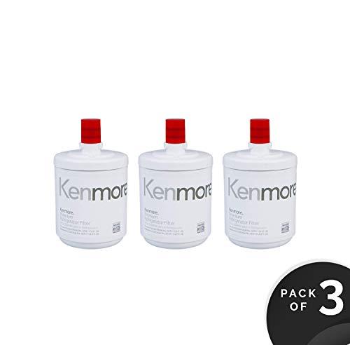 Genuine Kenmore Refrigerator Water Filter 9890 (3 Pack)