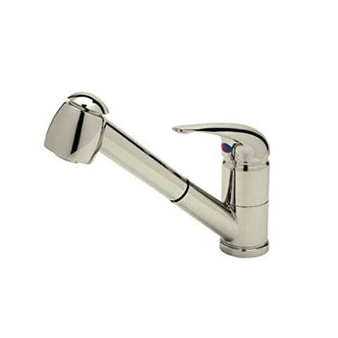 Rohl R3100STN Single Lever Value Lux Laundry Faucet with Pullout