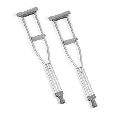 Quick-Change Tall Adult Crutches