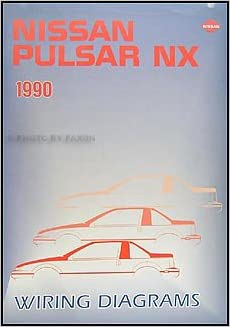 1990 nissan pulsar nx wiring diagram manual original amazon com books flip to back flip to front