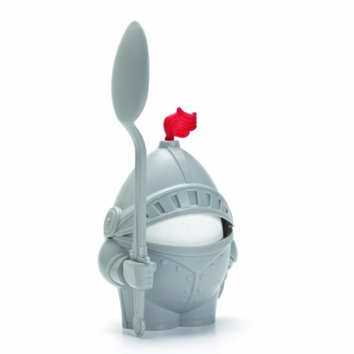1 X Arthur Boiled Egg Cup Holder with Eating Spoon Knight in shining (Knight In Armour)