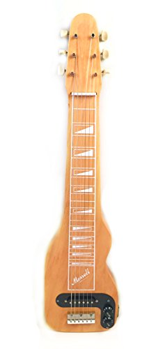 Morrell PLUS Series 6-String Lap Steel Guitar Gloss Natural Finish USA by Morrell