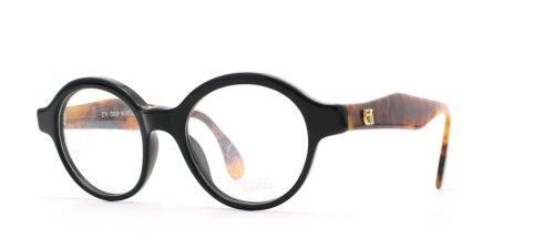 Emmanuelle Khanh 503 16 033 Black and Brown Authentic Men - Women Vintage Eyeglasses Frame (Emmanuelle Khanh)