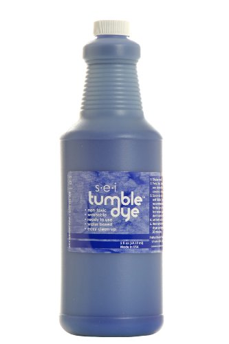 Sew Easy Industries Tumble-Dye Bottle, 1-Quart, Sports Blue by Sew Easy Industries