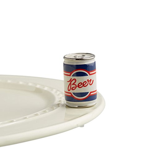 Nora Fleming Hand-Painted Mini: Beer Me (Beer Can) -