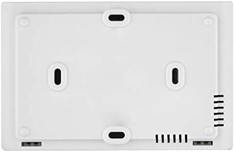 Schraubenfeder und digitalem Display Rohranlegethermostat Einstellbereich 5 /°C bis 80 /°C EMOS Anlegethermostat mit einstellbarer Schaltempfindlichkeit