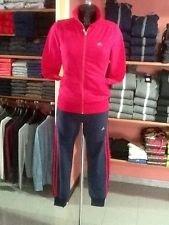 Price comparison product image Adidas tuta donna rosa-nero size 30